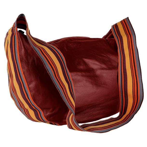 Band Bag - Cuir d'Agneau - Amarena