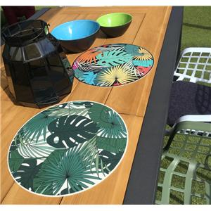 Set De Table Vinyl Rond