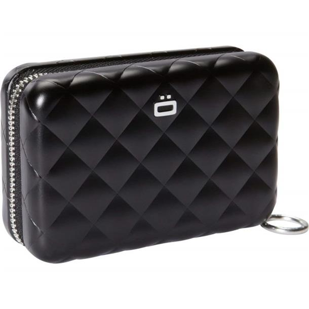 Porte-Cartes Quilted Zipper