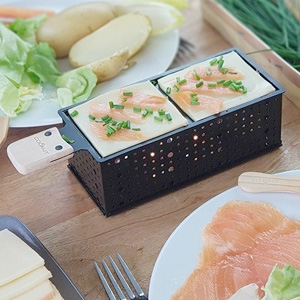Raclette & Fondue Gift Box for Two