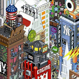 Pixel Art - eBoy - New York